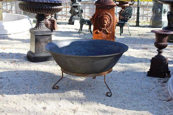Large Cast Iron Fire Pit