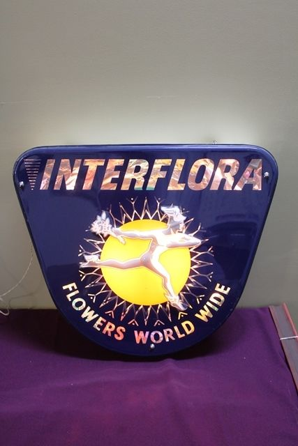 Classic Interflora Flowers Light Box