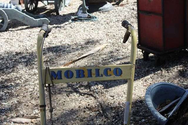 Mobilco Commercial Lawn Mower In Original Condition