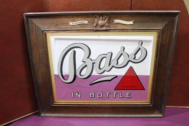 A Original Bass Beer Pub Mirror