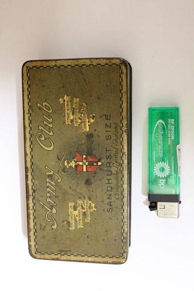 Army Club Cigarette Tin