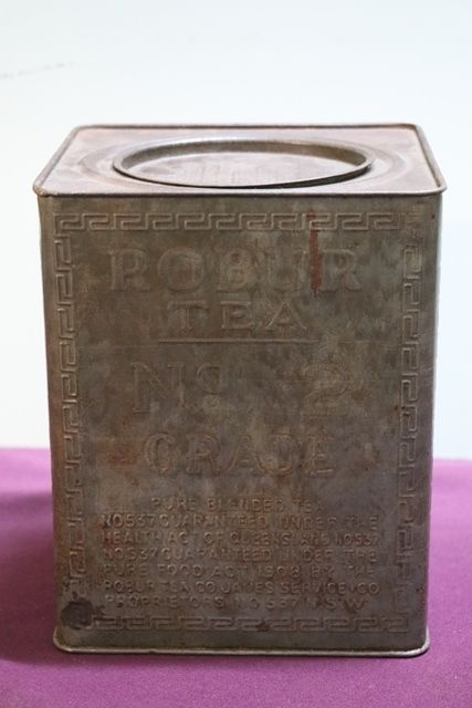 Australian Robur Tea No 2 Grade Tin