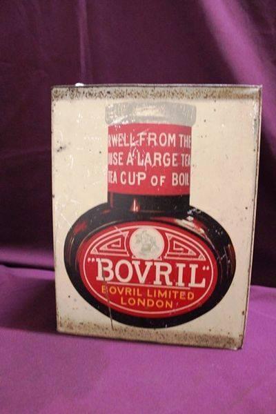 Bovril Shop Display Dummy Tin