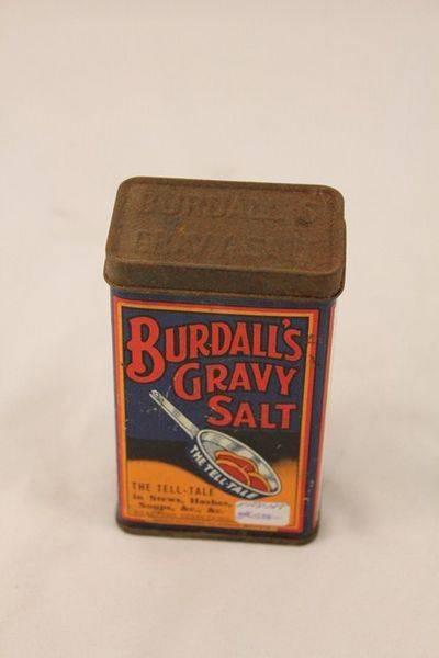 Burdalls Gravy Salt Tin