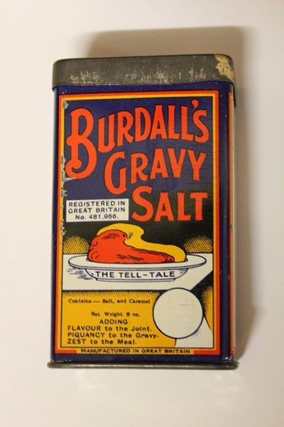 Burdalls Gravy Salt Tin