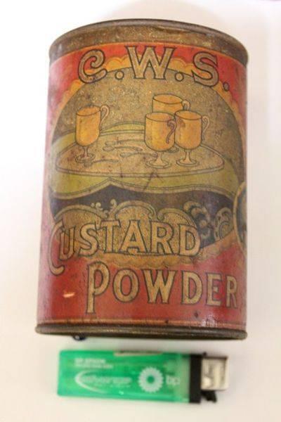 CWS Custard Powder Tin