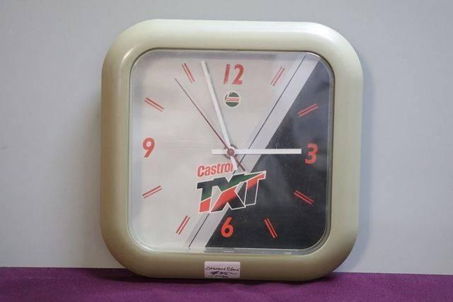 Castrol Clock