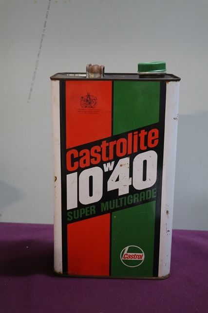 Castrol L Castrolite 10W40 Super Multigrade  5 Litres Motor Oil Tin