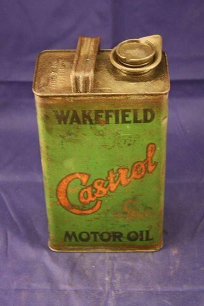 Castrol Wakefield C Winter Motor Oil Half Gallon Tin
