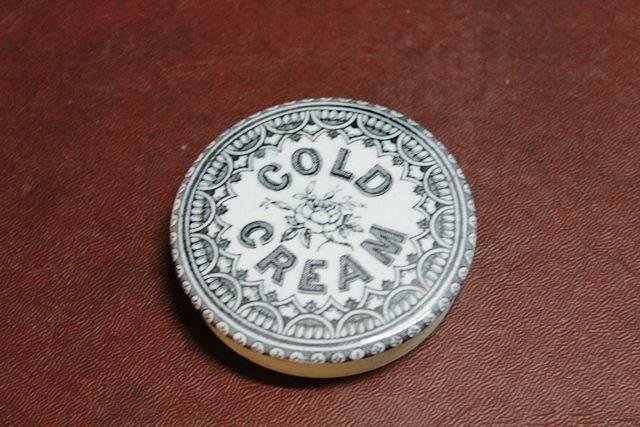 Ceramic Cold Cream Pot Lid