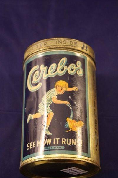 Cerebos Salt Tin