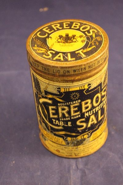 Cerebos Salt  Tin