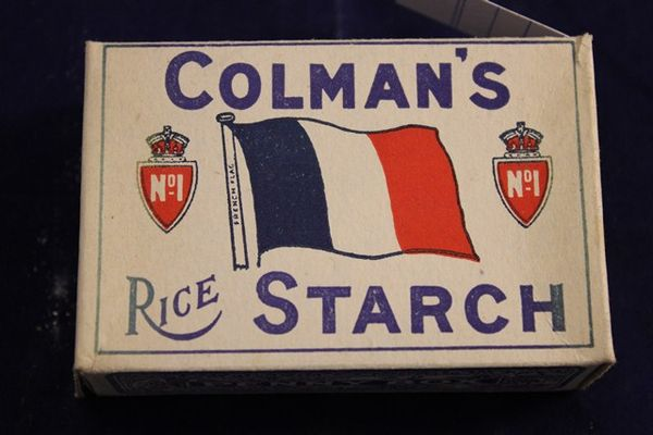 Colmans Rice Starch Packet