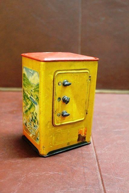 Combination Lock Tin Moneybox