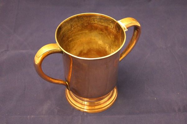 Copper Quart 2 Handled Jug