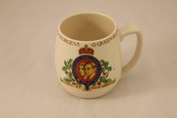 Coronation of George VI Mug