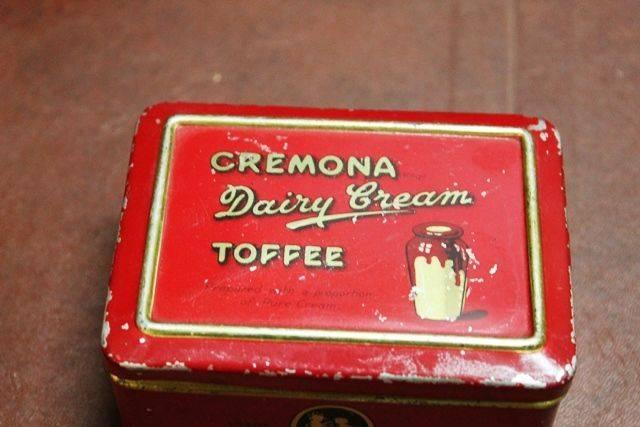Cremona Dairy Cream Toffee Tin