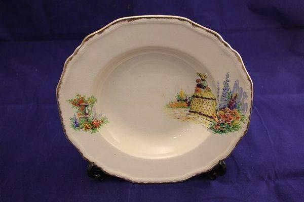 Crinoline Lady Bowl