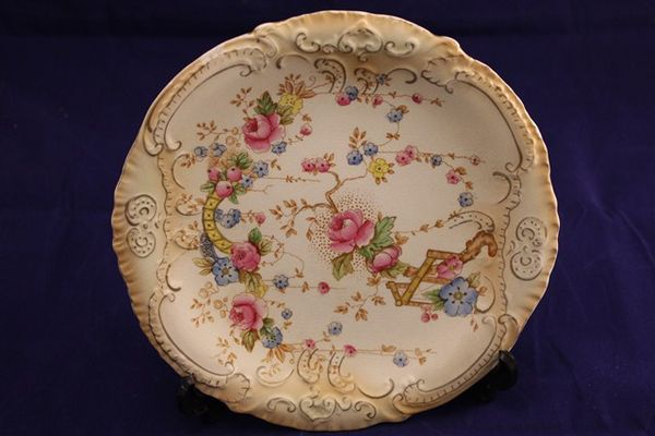 Crown Devon Cabinet Plate