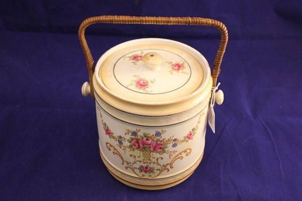 Crown Ducal Biscuit Barrel