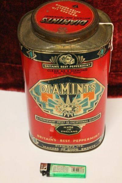 Diamints Peppermint Tin
