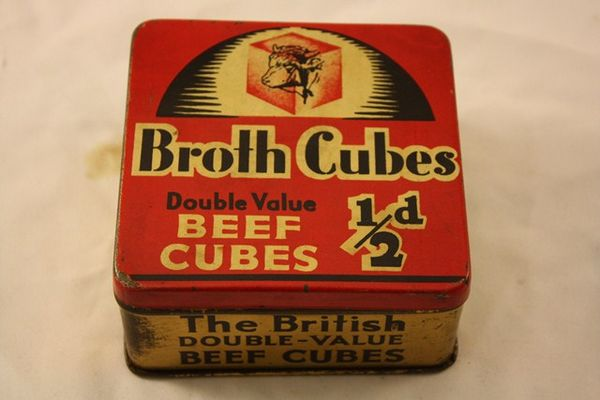 Double Value Beef Cubes Tin