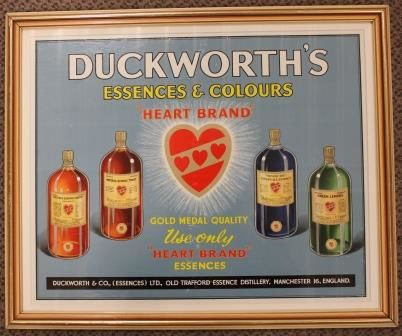 Duckworthand39s Advertising Card