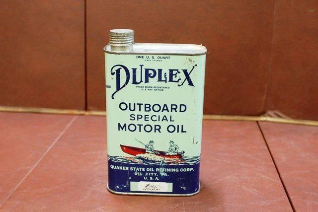 Duplex Outboard Special Motor Oil Xxxx Antique Complex