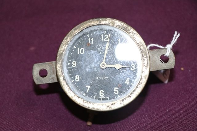 Early Ford 6Volt Dash Clock