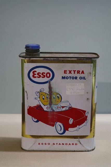 Esso Extra Multigrade HD 2 Litres Motor Oil Tin | XXXX