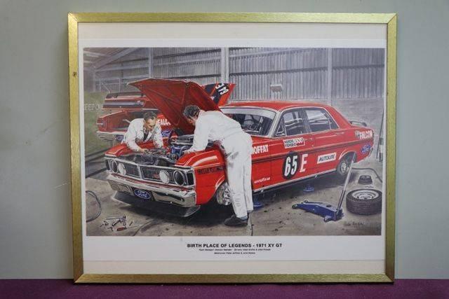 Ford 1971 Framed Poster
