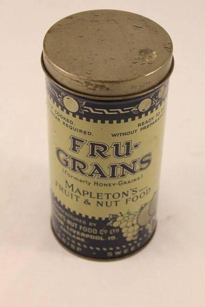 Fru  Grains Fruit + Nut Food Tin