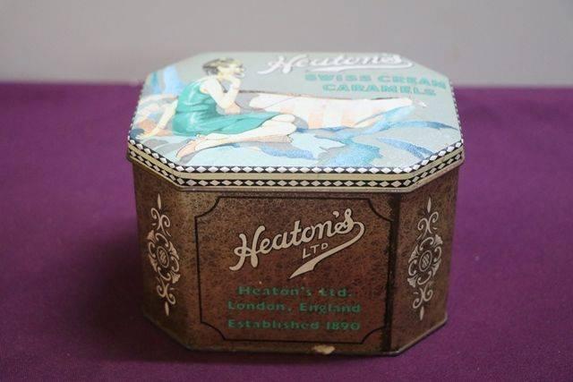 Heatonand39s Toffee Tin