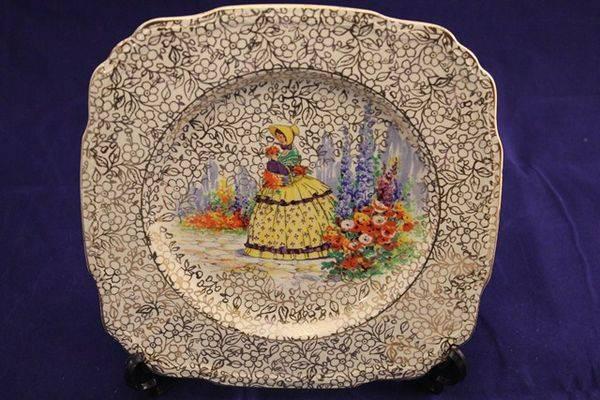 JFryer Cake Plate
