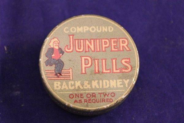 Juniper Pills Tin