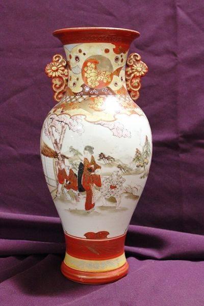 Late 19th Century Japanese Kutani Vase