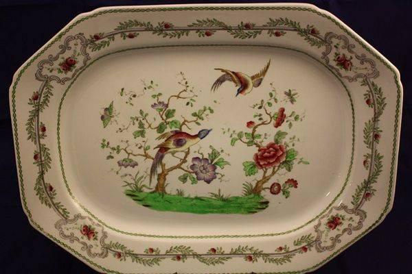 Late Victorian Copeland Spode Meat Platter
