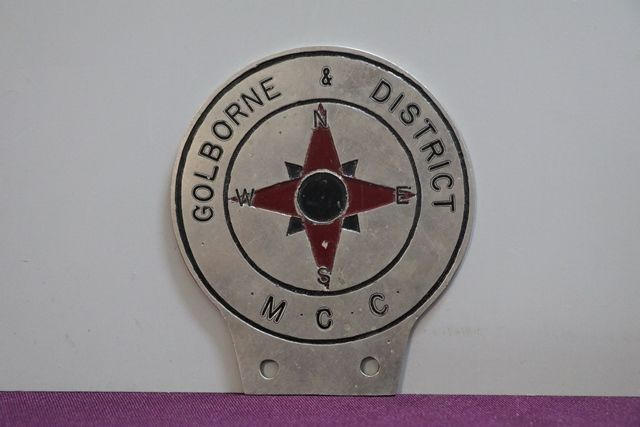 MCC Car Badge   XXXX Antique Complex