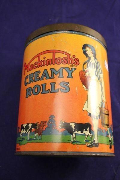 Mackintoshs Toffee Creamy Roll Tin