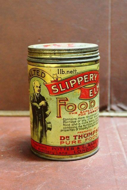 Malted Slippery Elm Food Tin