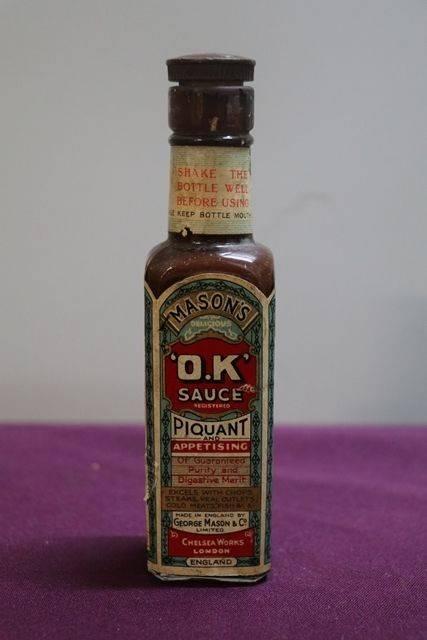 Masonand39s andquotOKandquot Sauce