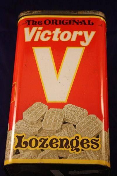 Original V Cough Lozenges Tin