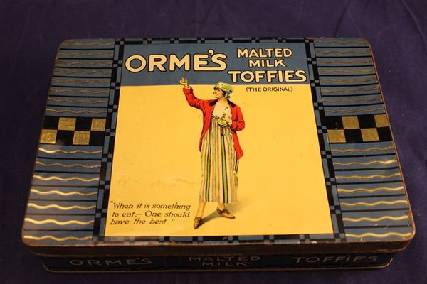 Ormes Malted Milk Toffees Tin
