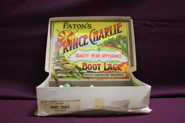 Pattons Prince Charlie Boot Lace Display Box