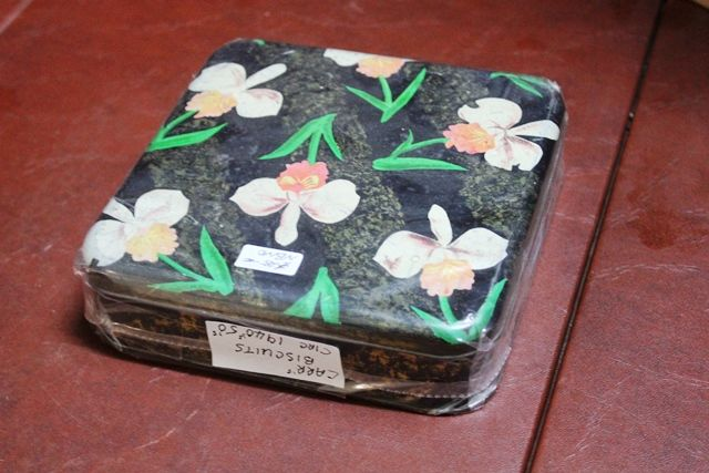 Pictorial Carrs Biscuits Tin