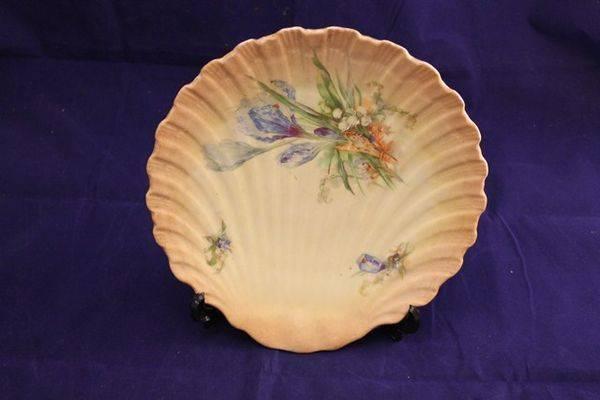 Porcelain Shell Plate