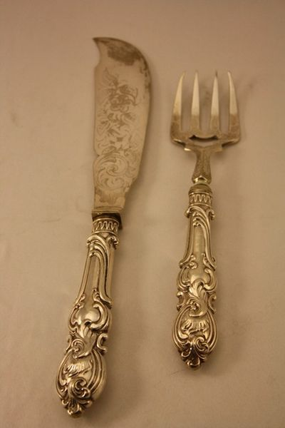 Quality Pair Of Victorian Servers