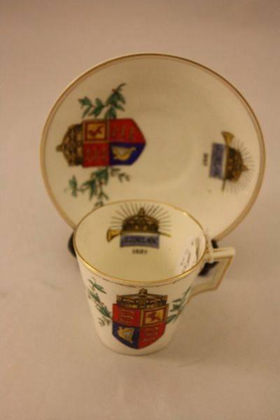 Queen Victorias 50 Year Jubilee Cup + Saucer