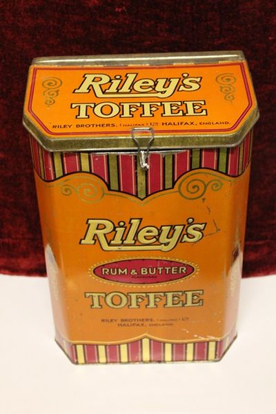 Rileys Rum + Butter Toffee Tin