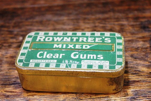 Rowntrees Mixed Clear Gums Sweets Tin